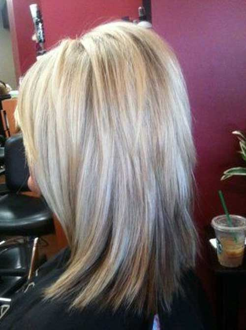 Cute Hairstyles For Short Layered Hair Back View