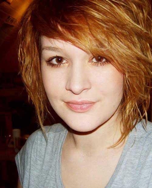 Cute Short Layered Hair for Girls