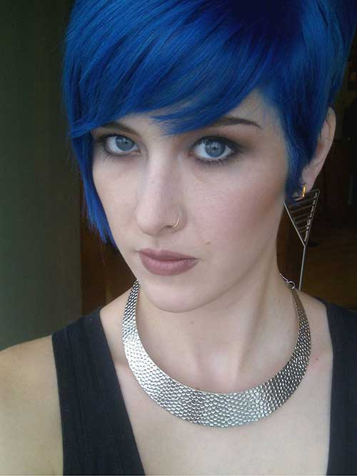 10 New Blue Pixie Cut | Short Hairstyles 2017 - 2018 ...