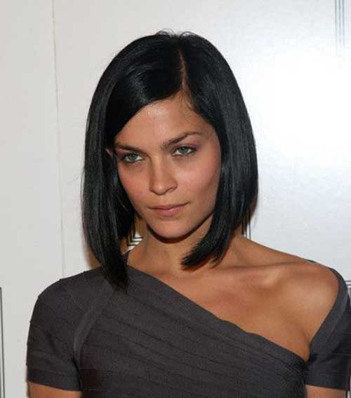 Dark Hair Bob Cuts Ideas