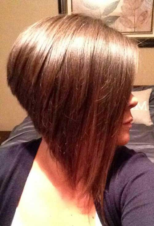 Cool 20 Inverted Bob Haircuts Short Hairstyles 2016 2017 Most Hairstyles For Women Draintrainus