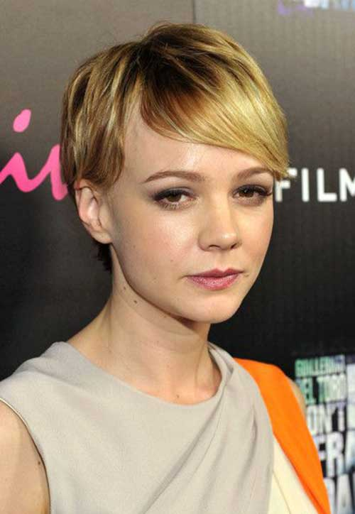 Fine Long Pixie Cuts