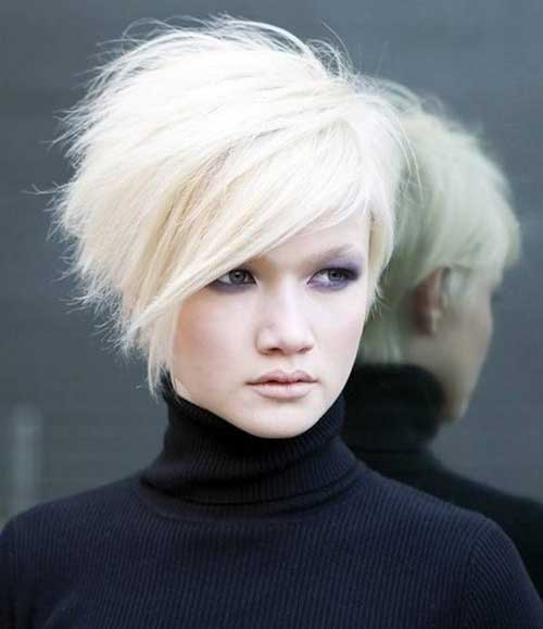 Girls Asymmetrical Short Haircuts