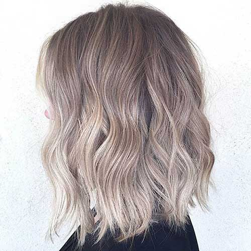 Hair Color Idea For Bob Hairstyle