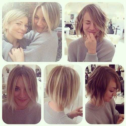 Kaley Cuoco Hair Color
