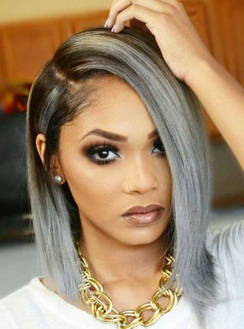 Grey Hairstyles Bobs Pictures