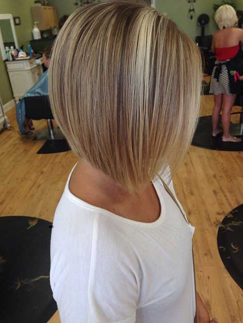 Nice Inverted Bob Haircut
