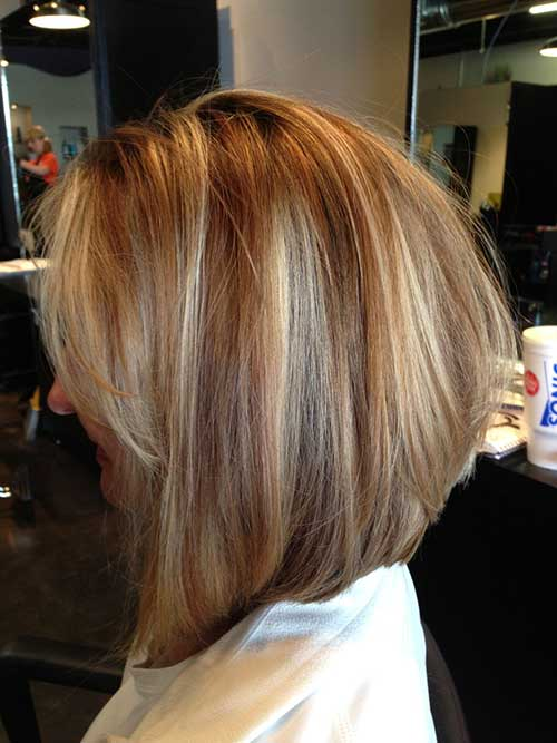 Stylish Inverted Bob Hairstyle