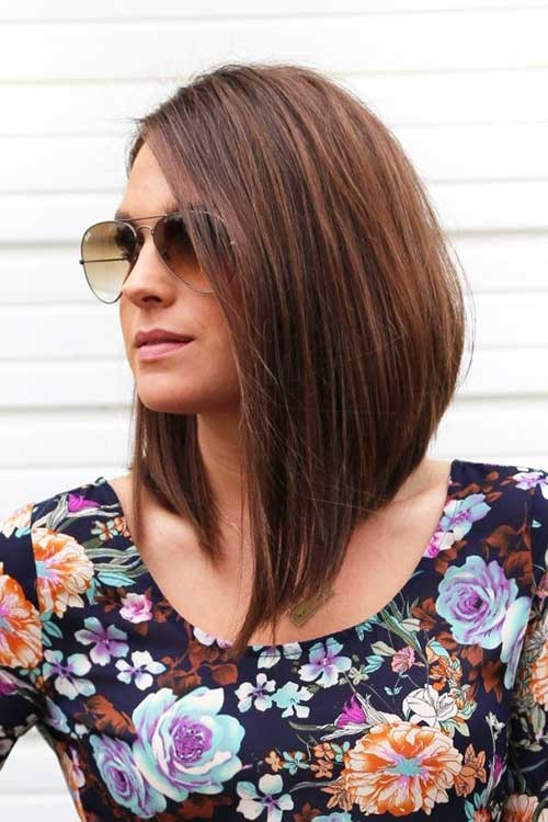 Magnificent 20 Inverted Bob Haircuts Short Hairstyles 2016 2017 Most Hairstyles For Women Draintrainus