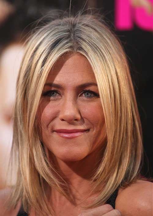 Jennifer Aniston Blonde Bob Haircuts