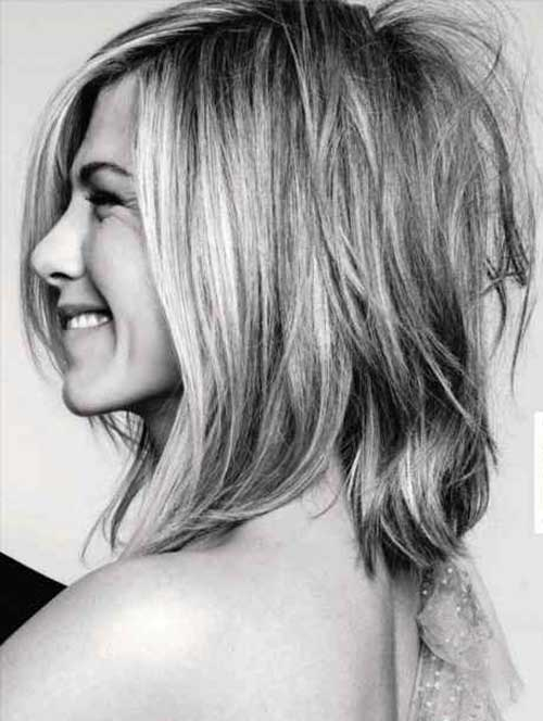 Jennifer Aniston Bob Cut Back View