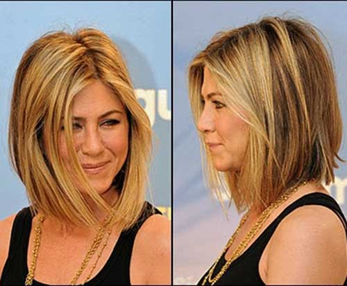 Jennifer Aniston Shoulder Length Bob Haircut