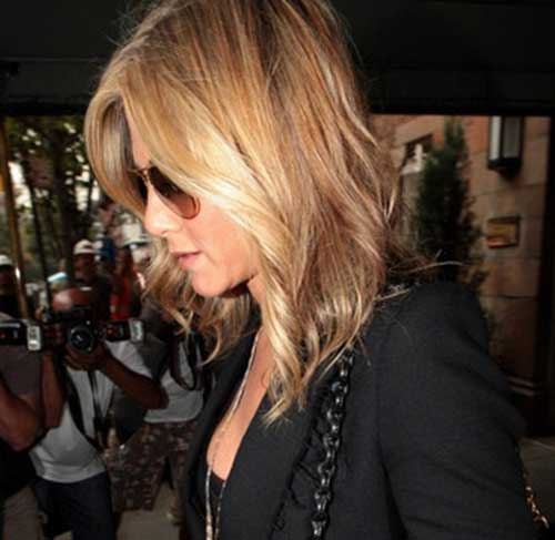 Jennifer Aniston Trendy Bob Haircuts