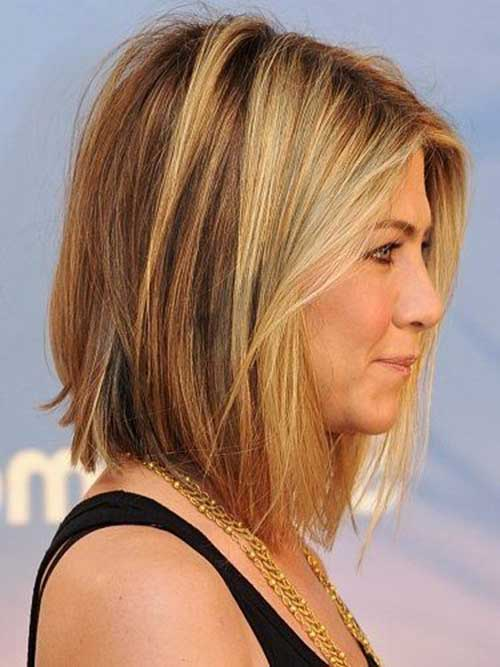 Jennifer Aniston Highlighted Bob Haircuts