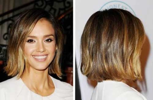Jessica Alba Short Hair Color Ideas