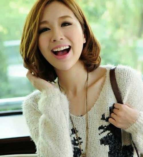 Korean Trend Bob Haircuts