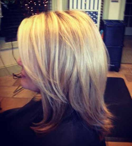 Layered Long Bob Hair