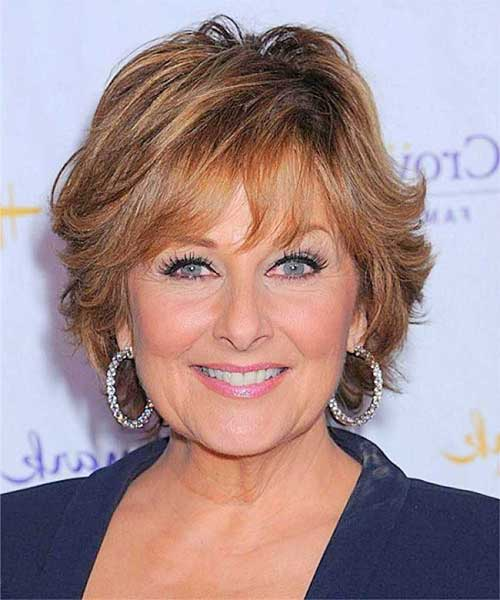 Layered Super Short Hair Styles for Older Women