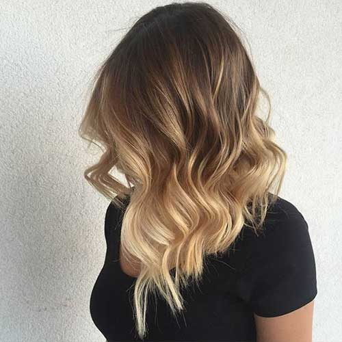 Long Balayage Bob Hair Styles