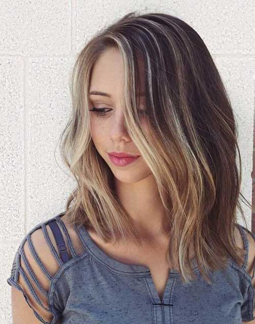 Enjoyable 25 Best Long Bob Hair Short Hairstyles 2016 2017 Most Hairstyles For Women Draintrainus