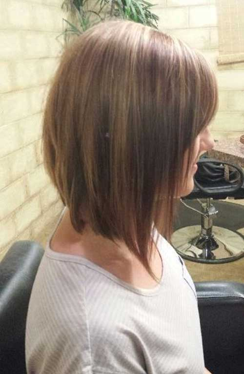 Long Bob Inverted Hair Styles