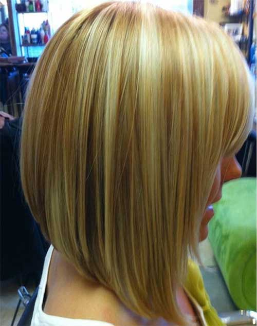 Long Inverted Bob Haircuts