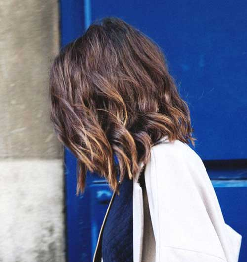 Long Soft Wavy Bob Hair