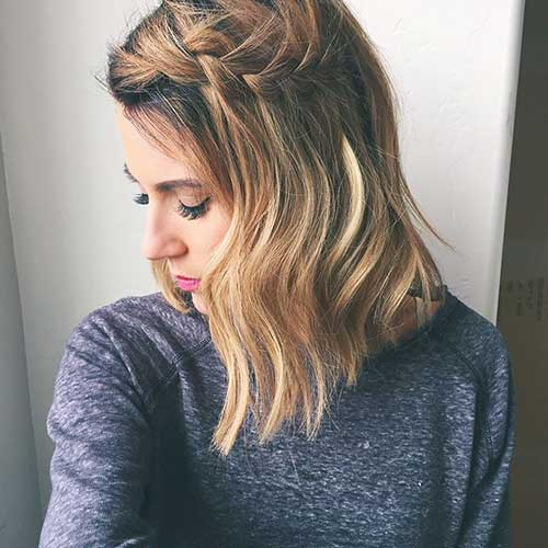 Admirable 25 Best Long Bob Hair Short Hairstyles 2016 2017 Most Hairstyle Inspiration Daily Dogsangcom