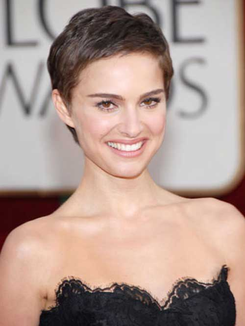 10 Best Natalie Portman Pixie Cuts Short Hairstyles