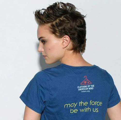 Best Natalie Portman Pixie Cut