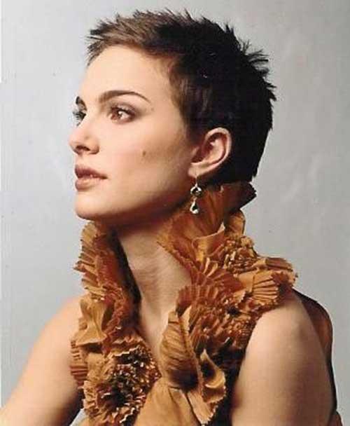 Natalie Portman Nice Pixie Hair