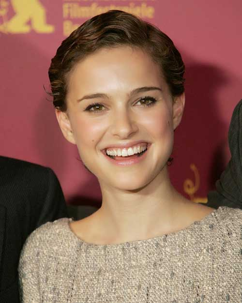 Natalie Portman Very Short Pixie Cuts