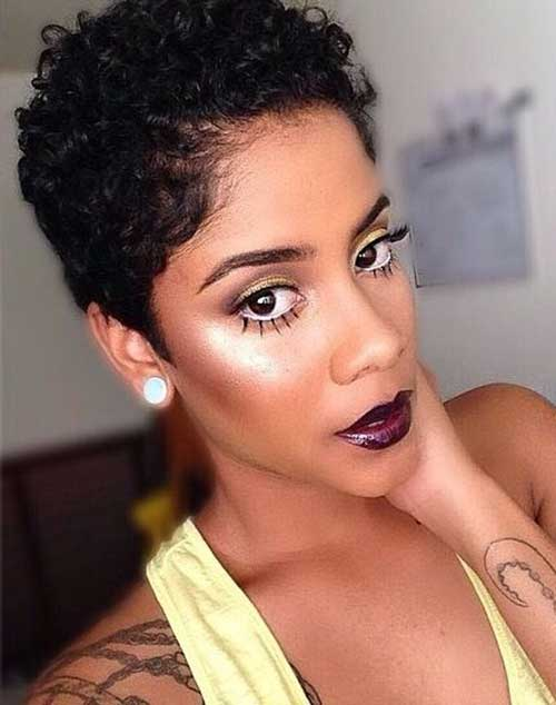 15 New Short Curly Haircuts For Black Women