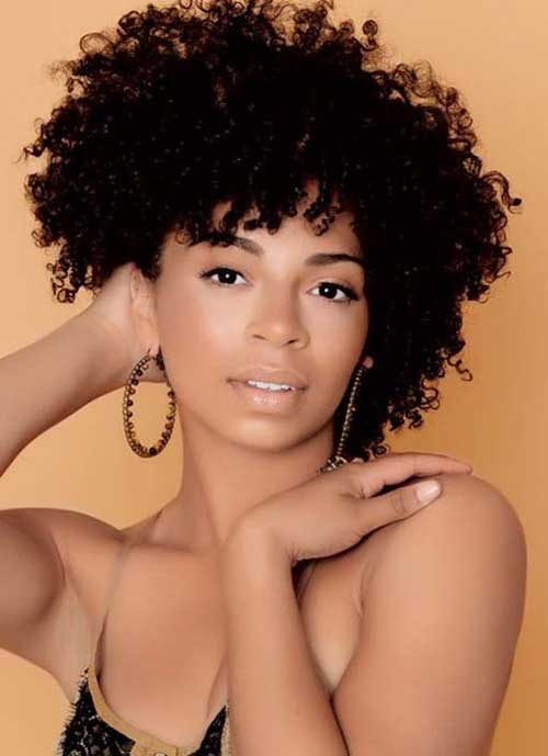 Natural Type Short Haircuts for Black Women