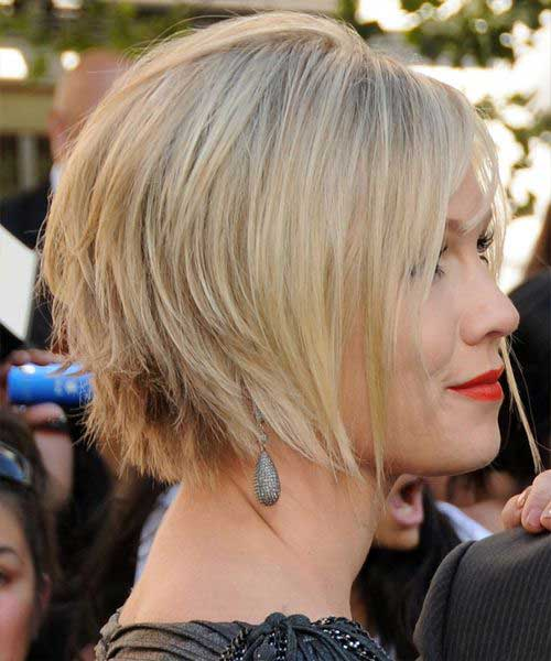 Nice Layered Blonde Bob Hairstyles for Women