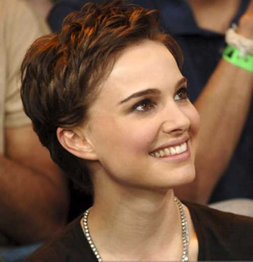 Cute Pixie Cut Natalie Portman