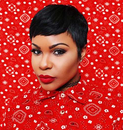 Short Pixie Haircuts for Black Girls