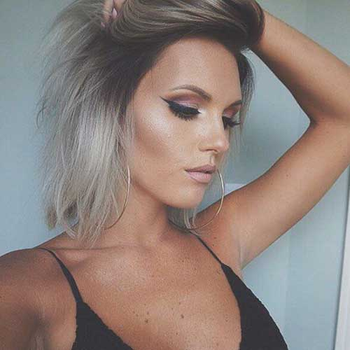 Popular Short Colored Hair 2015