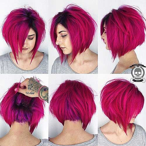 Red Bob Hair Color Ideas