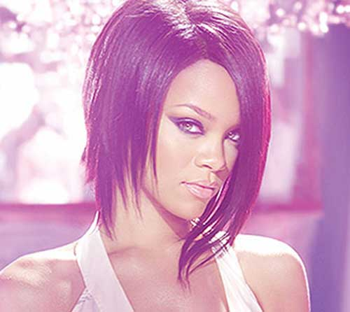 Rihanna Stylish Bob Hairstyles