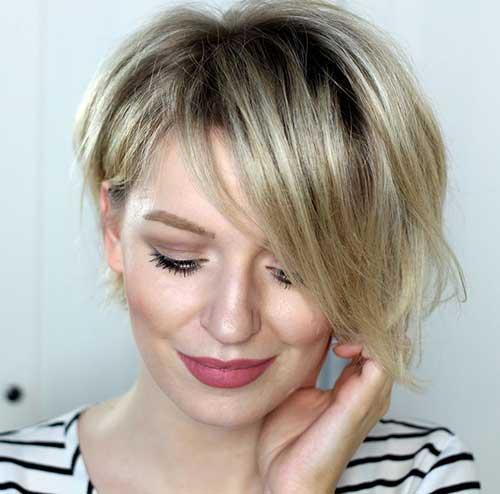Short Asymmetrical Blonde Hair Ideas