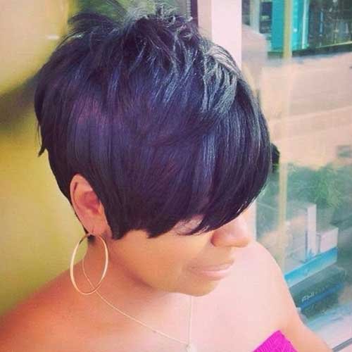 Short Pixie Black Girl Hairstyles