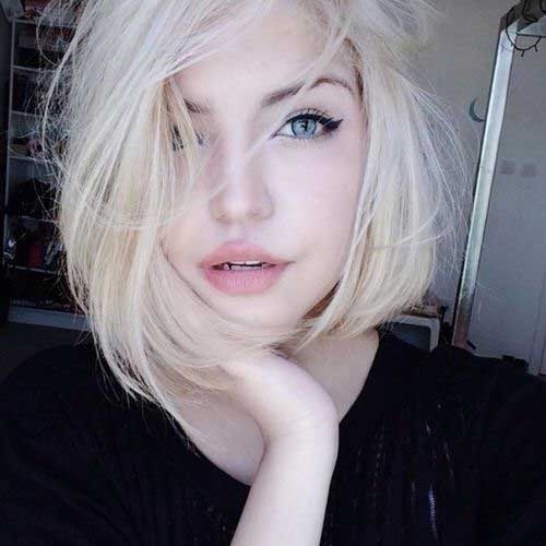 Short Blonde Grunge Hair Cuts