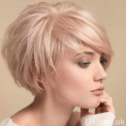 Short Bob Blonde Hair Cuts