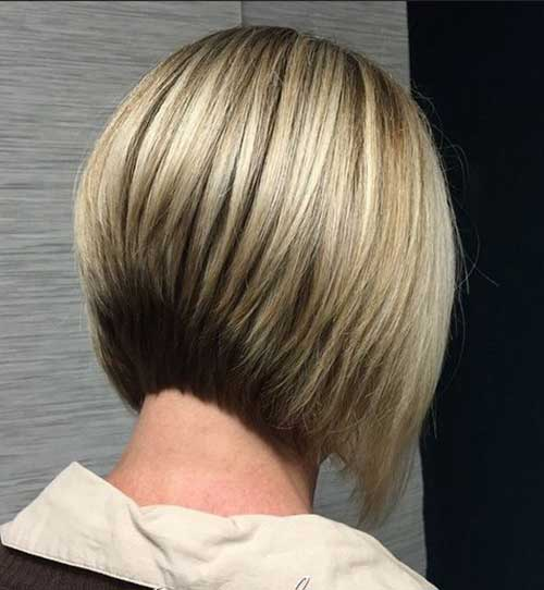 Best Short Bob Haircuts Back View for Women