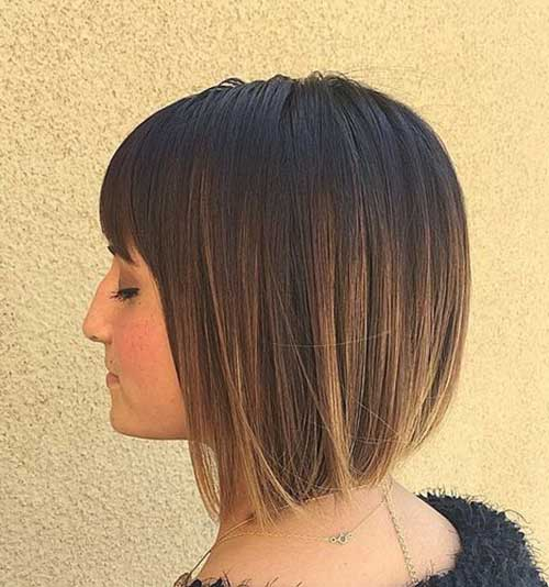 Best Short Bob with Bangs for Women