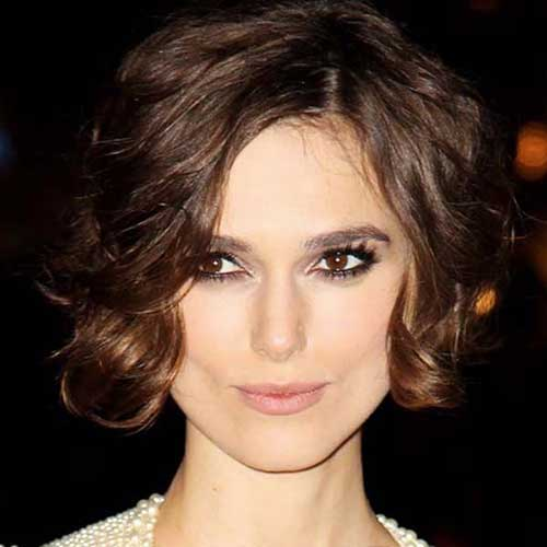 15 Popular Short Curly Hairstyles For Round Faces