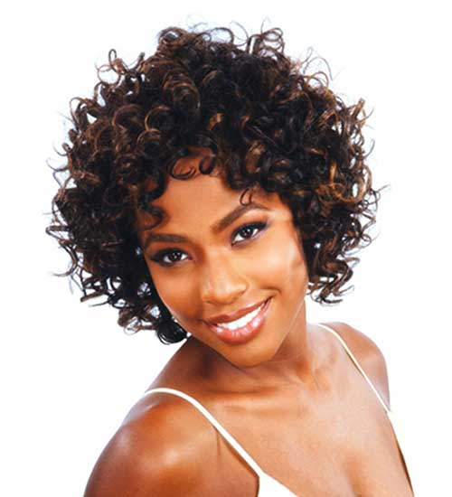 New Short Curly Hair Weave Styles