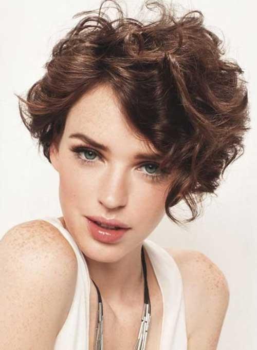 Awe Inspiring 15 Latest Short Curly Hairstyles For Oval Faces Short Hairstyles Hairstyles For Men Maxibearus