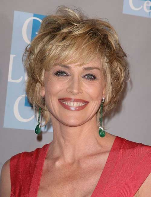 Short Cuts with Layers for Older Women